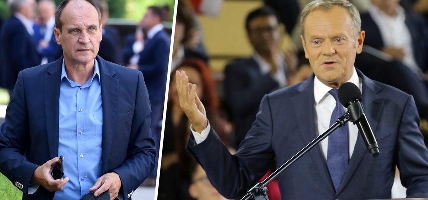 Tusk obśmiał Kukiza: Taki polityk, jak z Kaczyńskiego rock'n'rollowiec