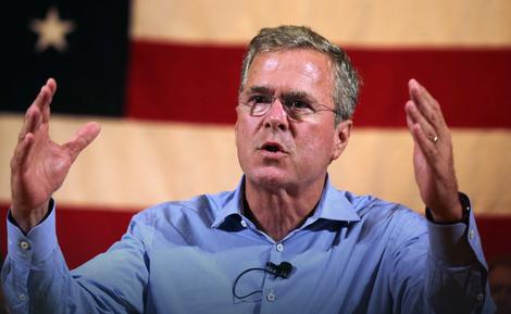 Džeb Buš na tapetu za kraj
