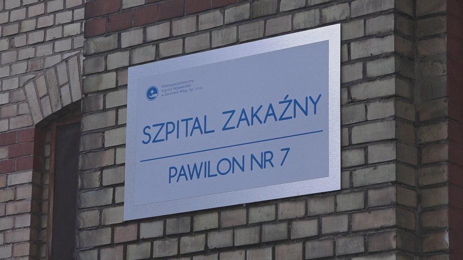 Szpital zakaźny przy ul. Walczaka w Gorzowie