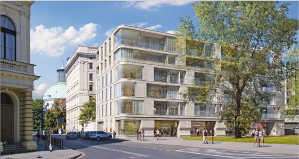 Nowy właściciel nieruchomości przy pl. Małachowskiego zamiast mieszkań wybuduje biura Fot. Materiały prasowe