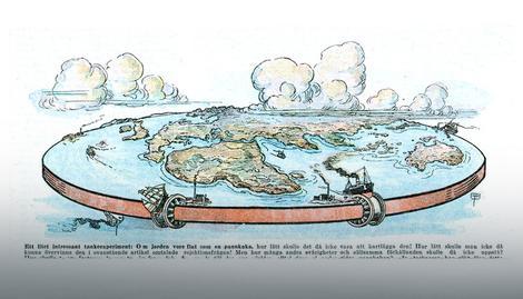 A da ponovo postavimo i pitanje da li je Zemlja možda ravna ploča?