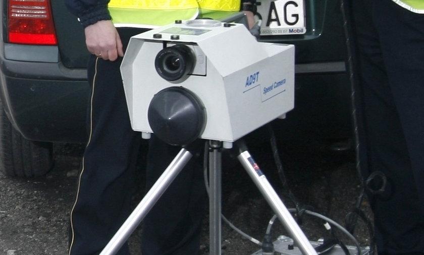 Tu straż łapie na fotoradar!