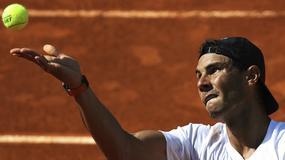 ATP w Madrycie: mecz Rafaela Nadala przełożony z powodu infekcji ucha