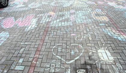 Malowanie chodników na Białołęce