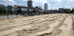 Powstaje plaża pod PKiN-em