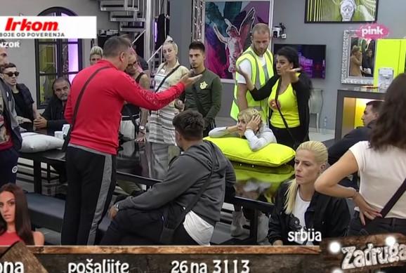 Saška Karan i Gagi Đogani se svađaju