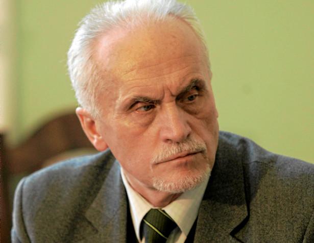 Piotr Ł.J. Andrzejewski - senator, adwokat, działacz opozycji demokratycznej w PRL, członek Trybunału Stanu