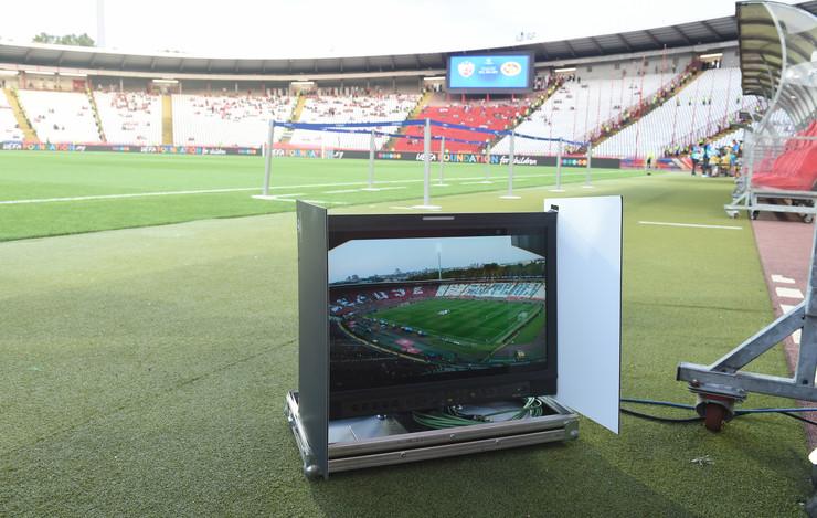 VAR sistem na stadionu Rajko Mitić