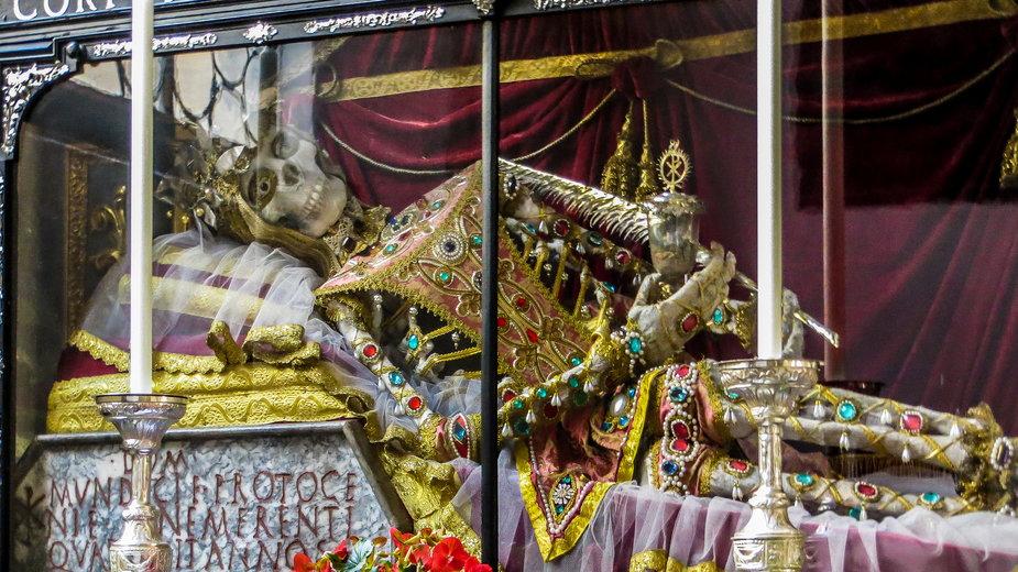 Relikwie św. Munditii