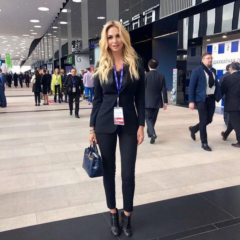 Muza Putina zachwyciła na otwarciu turnieju