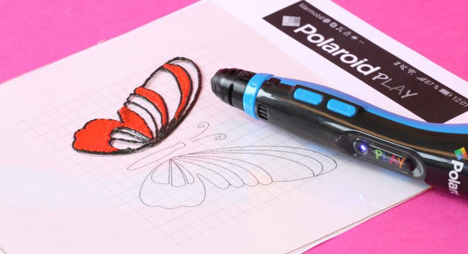 Polaroid Play 3D-Pen im Test: Was kann der 3D-Druck-Stift?