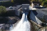 valjevo,  Rovni brana ispusti vode iz cevi