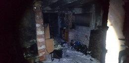 Nie mogły uciec z płonącego domu. Wołały z okna o pomoc