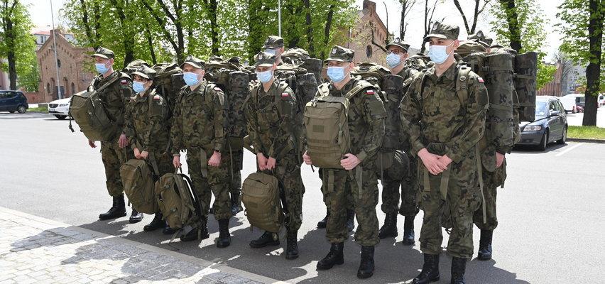 Terytorialsi w podwyższonej gotowości na granicy Polski i Białorusi