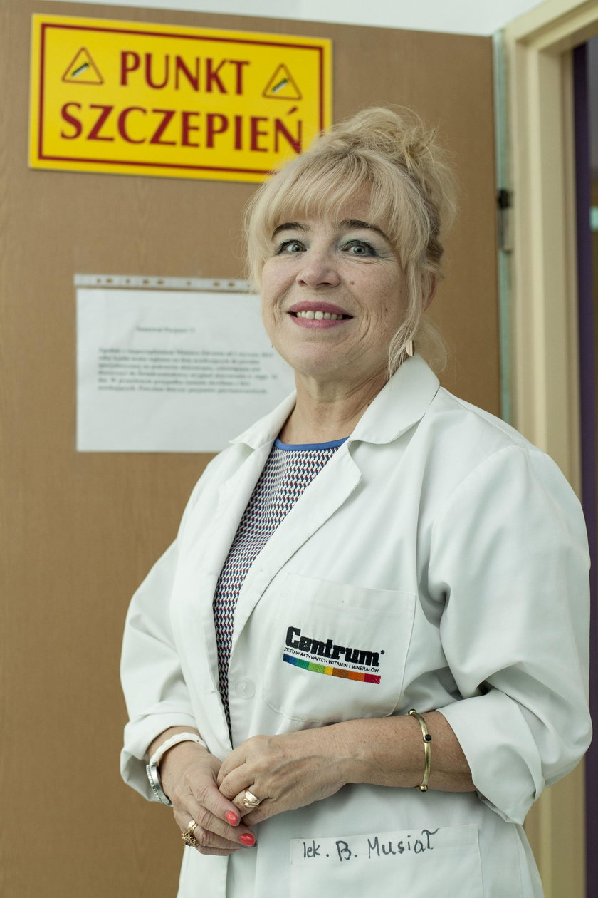 Barbara Tabin, lekarz medycyny rodzinnej w Chorzowie