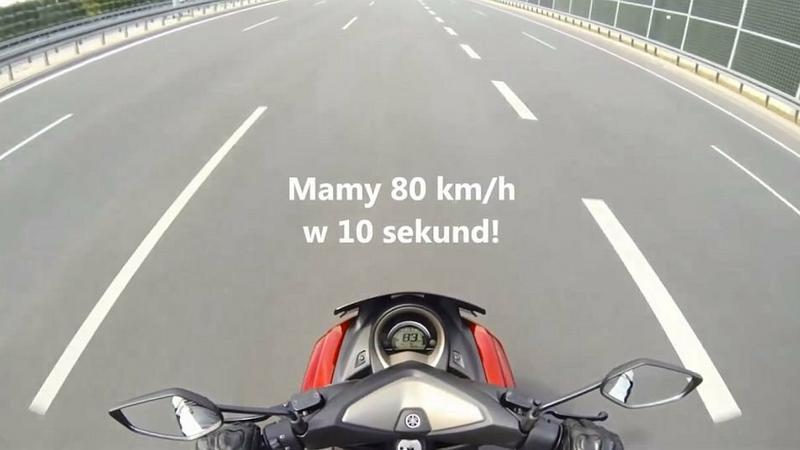 Yamaha NMAX - testujemy przyspieszenie