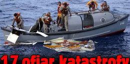 20 ofiar katastrofy wyłowiono z oceanu