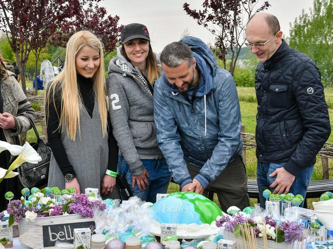 BELLO ORGANIC MLEKO za posebnu festivalsku rođendansku tortu