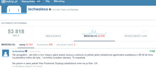 Wałęsa odpowiada na mikroblogu: Nie współpracowałem z SB