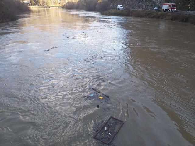 Brzina reke Lim ovih dana je pet metara u sekundi