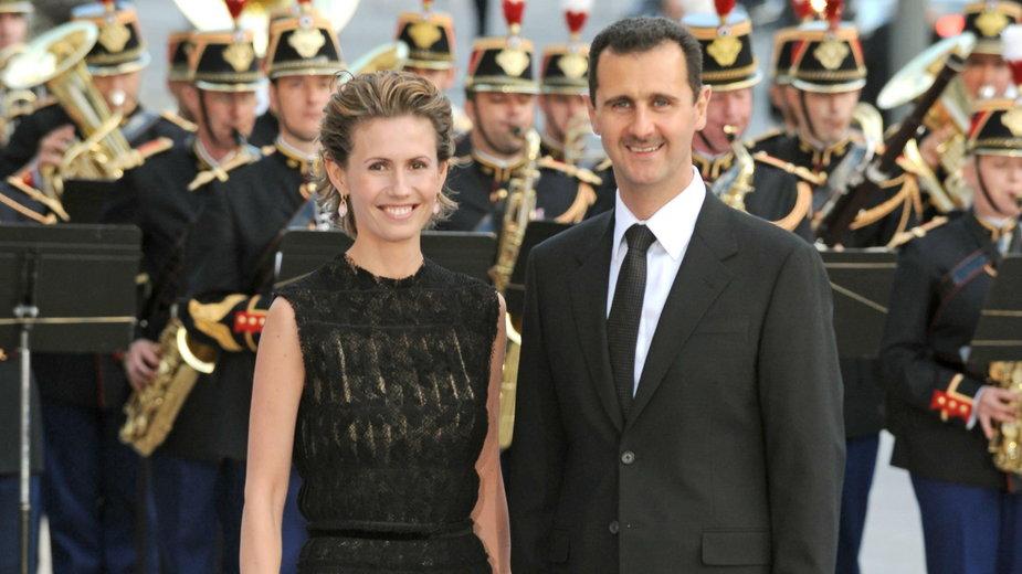 Baszar al-Asad i Asma w 2008 r.