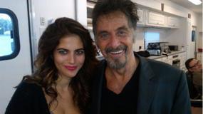 Weronika Rosati u boku hollywoodzkich gwiazd