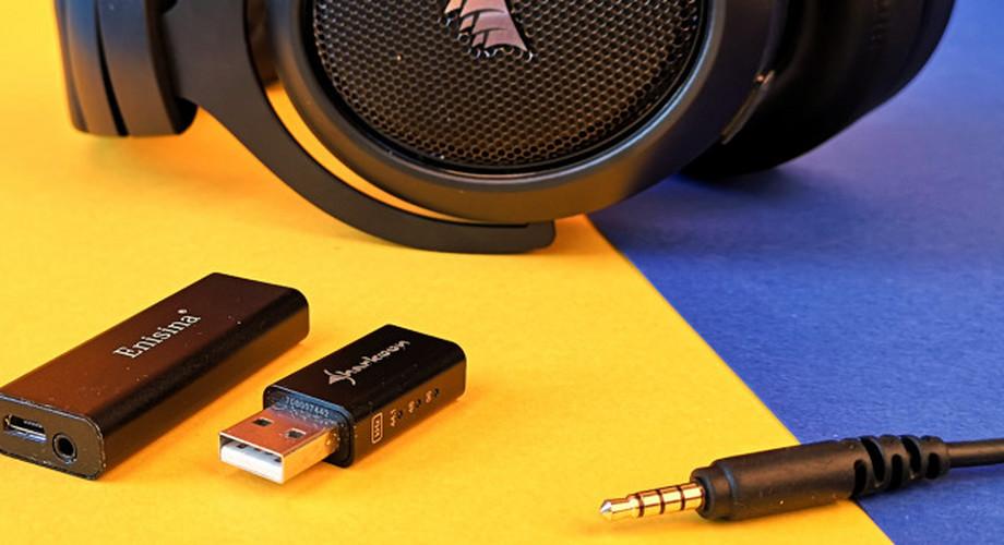Kopfhörerverstärker und USB-Soundkarten bis 40 Euro