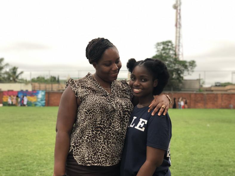 Carolyn Asante-Dartey and mother Mrs Juliana Asante-Dartey