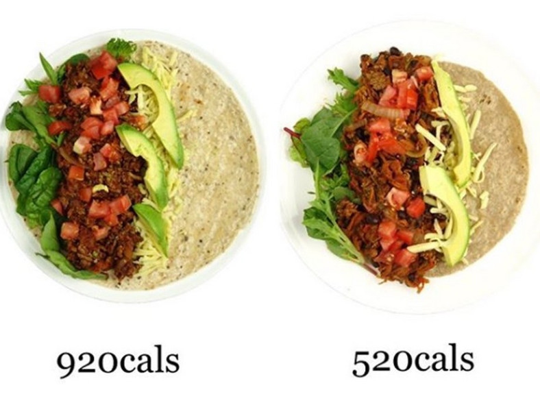 healthier taco less calories