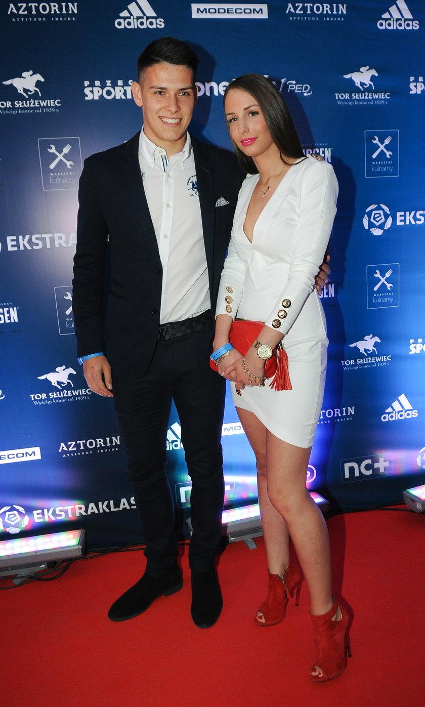 Mariusz Stępiński i Karolina Lisowska