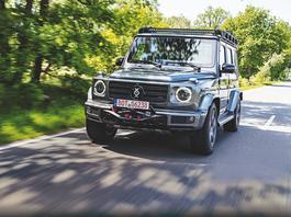 Mercedes klasy G w pancernym wydaniu Brabusa