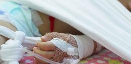 4-miesięczne dziecko z urazem głowy. Zatrzymali ojca