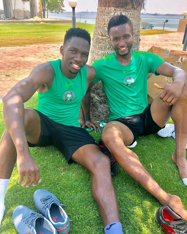 Mikel Obi says he has a good relationship with his Super Eagles teammates (Instagram/Mikel Obi)