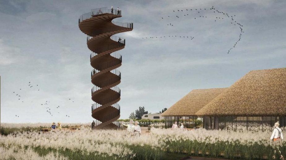 Dania: nowa wieża widokowa Marsh na wybrzeżu Morza Wattowego