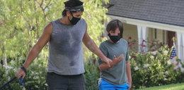 Tak Colin Farrell spędza z synem pandemię