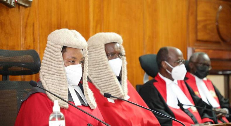 Special Supreme Court proceedings held as Chief Justice David Maraga retired on January 11, 2021