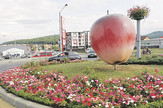 LESKOVAC08_Rumunija_Bistrica_Jabuka simbol_FOTO M Ivanovic