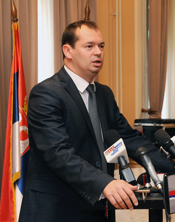 Konstantna blokada niških škola: Milos Simonović,  bivši gradonačelnik