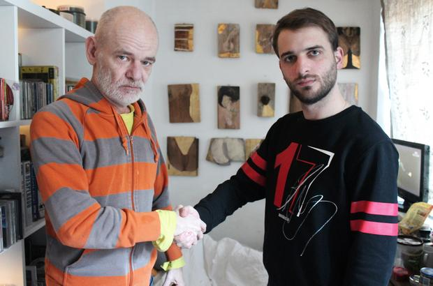 Robert Brylewski i Janusz Schwertner