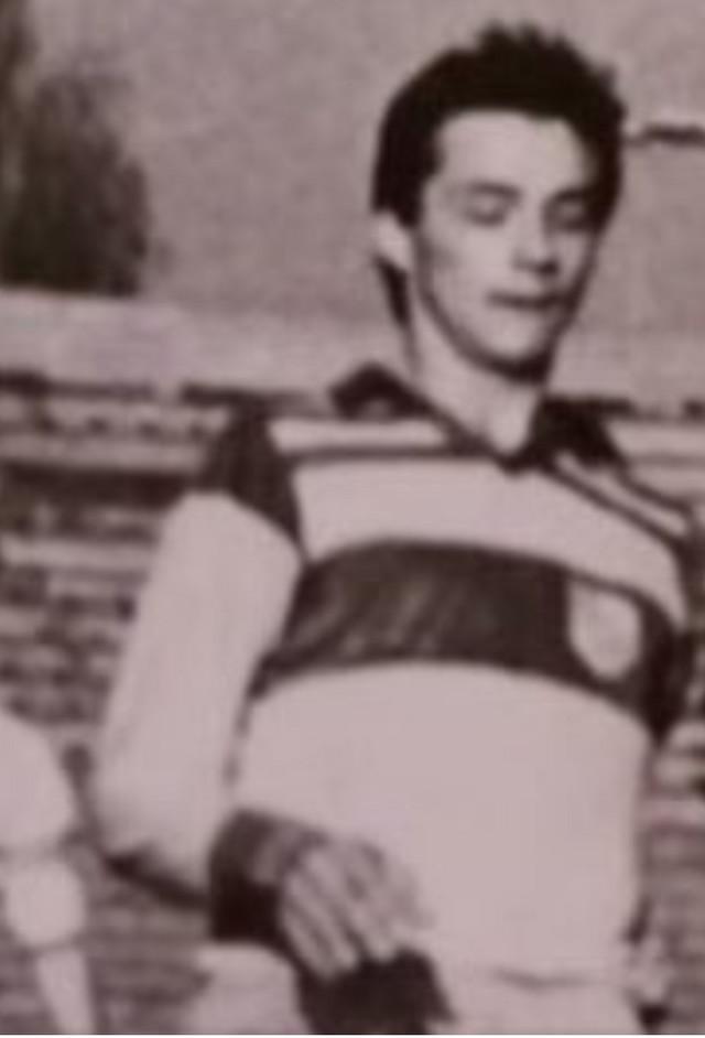 Slaviša Jokanović kao junior FK Novi Sad - 1988. godine