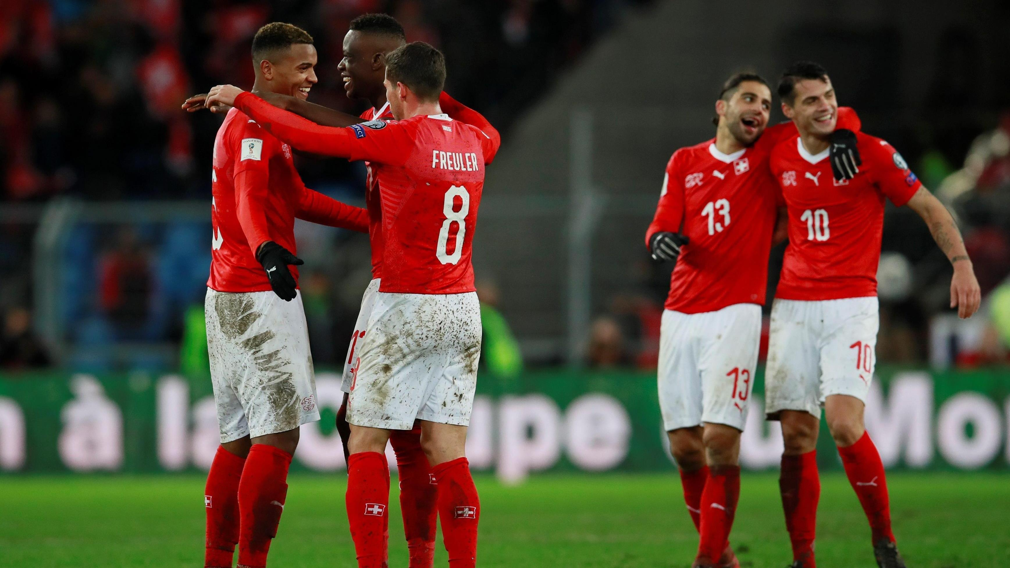 0dd44f561 Szwajcaria awansowała do MŚ w Rosji, Irlandia Północna odpada - Mundial 2018