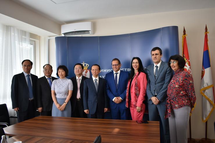 Kineska delegacija u Beogradu