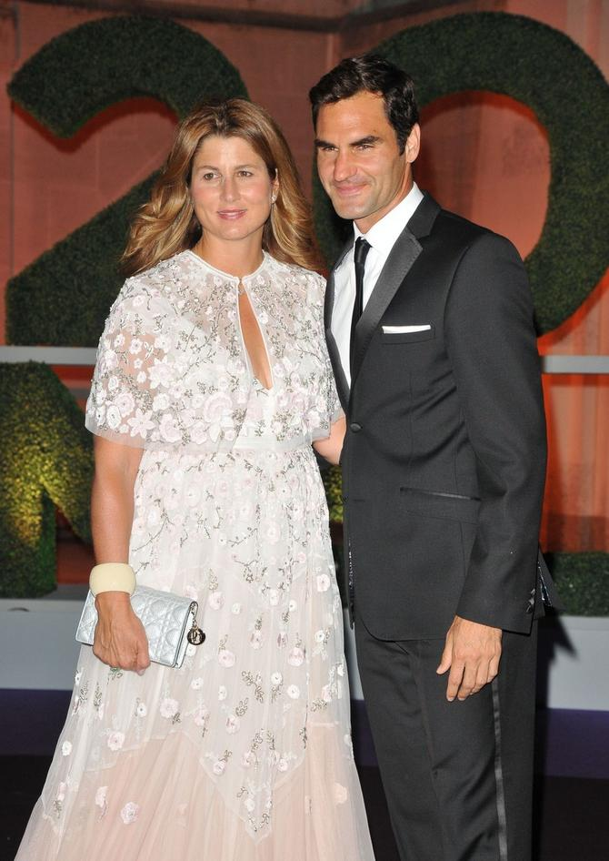 Mirka i Rodžer Federer