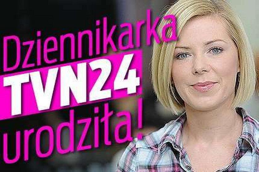 Dziennikarka TVN24 urodziła!