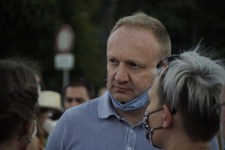 Dragan Đilas, protest 3 dan
