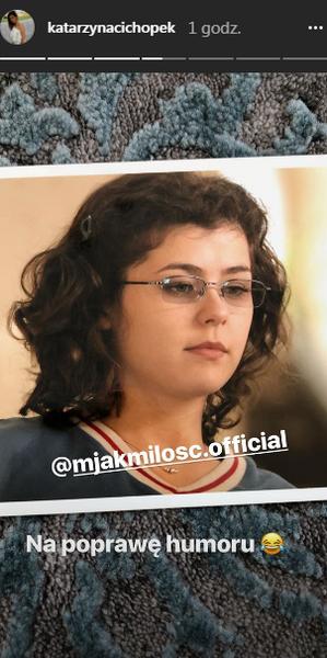 Katarzyna Cichopek na Instagramie