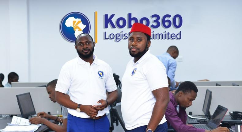 Kobo360 Co-founders - Obi Ozor & Ife Oyedele II