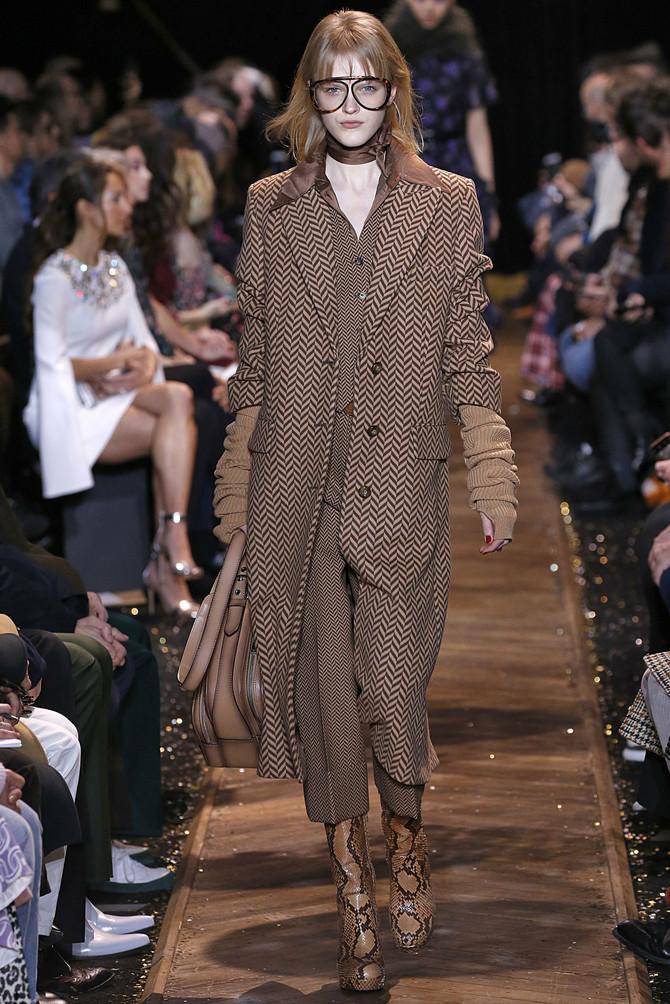 Njujorška nedelja mode. Model iz kolekcije Majkl Kors za jesen/zimu 2019/20