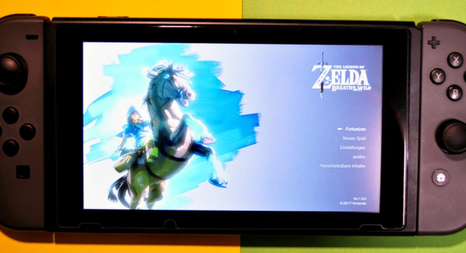 Zelda: Breath of the Wild für die Switch im Test