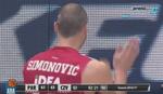 Pogledajte kako je Marko Simonović isključen na derbiju /VIDEO/
